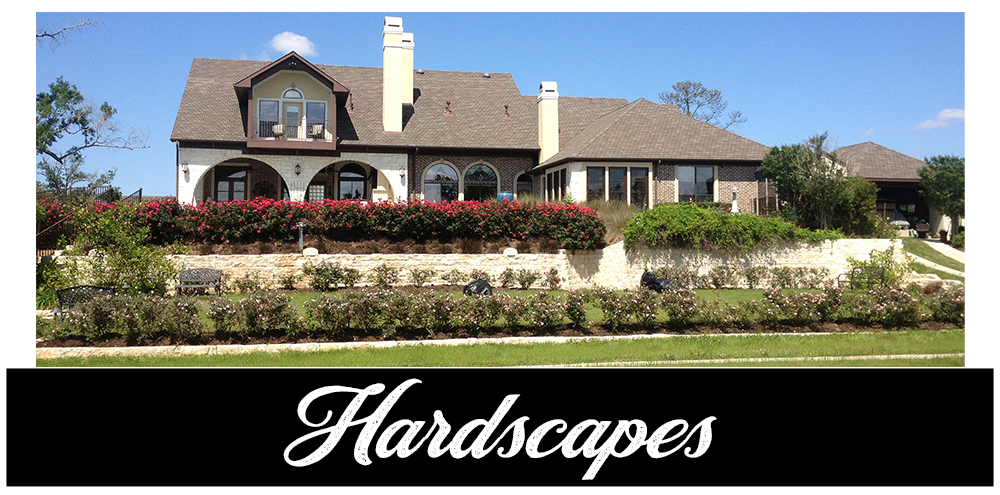 Hardscapes, retainer walls, patios, walkways